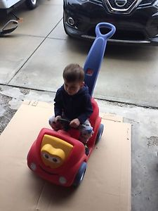 Wanted: Little tikes push car