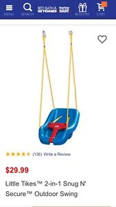 Wanted: Toddler Swing