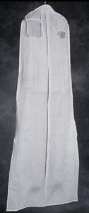 Wedding or Prom Gown Garment Bag - Vinyl, Opac, Wide bottom,