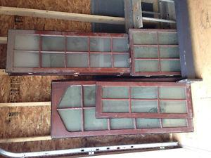 Windows, doors, and other material
