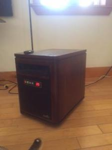 Garrison Wood Cabinet Infrared Heater Posot Class