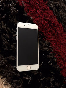 iPhone 6 16GB White Rogers and Chatr Great Condition