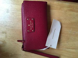 kate spade wallet / wristlet - never used