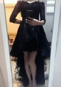 robe de bal noire. elegante. neuve/brand new