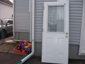 34 inch x 81inch steel door
