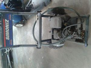5 hp pressure washer and air compressor