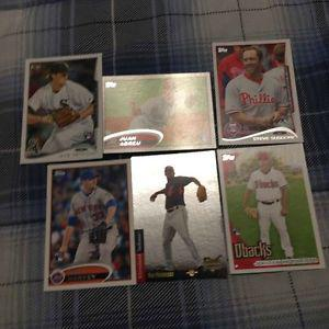 6 Different Baseball Rookie Cards-SP RC Edition Ben