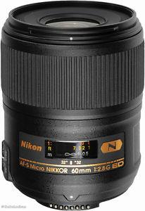 AF-S Nikon 60mm f/2.8 G ED micro