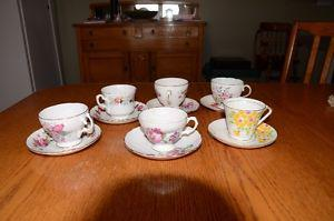 Bone China Tea Cups & Saucers