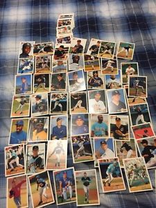 Bowman Baseball Rookies All Different + 35 Common