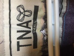 COZY BLACK TNA COAT SZ S