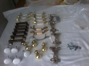 Cabinet knobs and handles