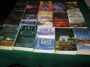 Carla Neggers books $1 each