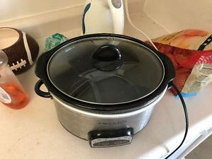 Used Old Rival Slow Cooker Crock Hot Pot Scv600 Posot Class