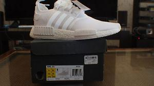 DS Adidas NMD R1 Triple White SZ  OBO