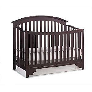 Delta Sonoma Baby Crib+ Baby Mattress+ 5-Piece Noah Bedding