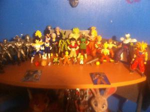 Dragon Ball Z Action Figures For Trade
