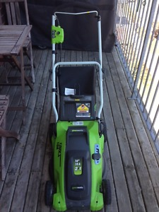 Electric Lawnmower - like new!