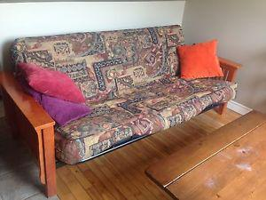 Futon sofa couch