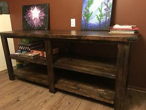 Hall Table/ Storage Shelf