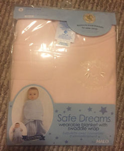 Halo Wearable Blanket Swaddle New in Box