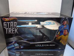 Hot Wheels Star Trek 1/50th Scale USS Excelsior