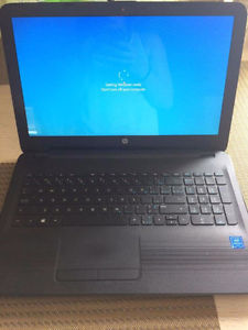 Hp laptop 4 GB ram 500 g hard drive web cam