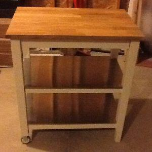 IKEA stenstorp kitchen cart for sale
