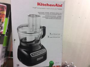 KITCHENAID 7 Cup Food Processor Contour Silver