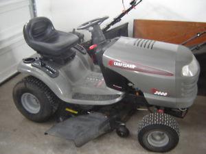 LT  Lawn tractor