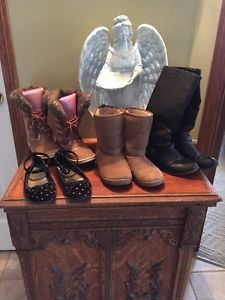 Lot of girls shoes: all size 4