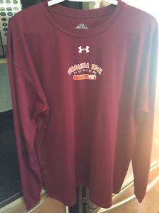 Men's Under Armour - Virginia Tech Long Sleeve