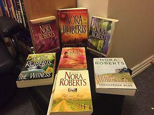 Nora Roberts In Soft Cover Book Collection (Medium Size)