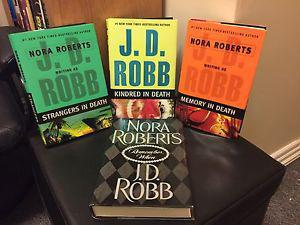 Nora Roberts as J.D. Robb Book Collection (Hard Cover)