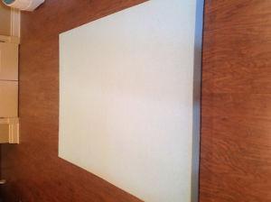 Novaform gel memory foam mattress topper - double size