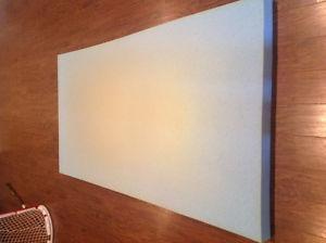 Novaform gel memory foam mattress topper - single size