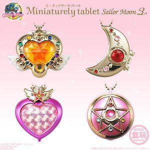 Sailor Moon Miniaturely Tablet 3 Key Chain