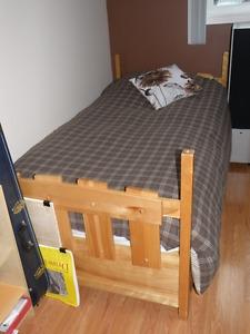Sears Ranchero Solid Birch Bedroom Set