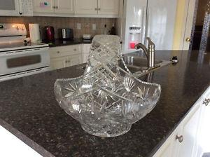 Stunning Crystal Bowl vase
