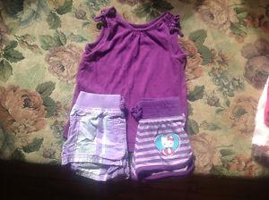Summer girls clothes size 2