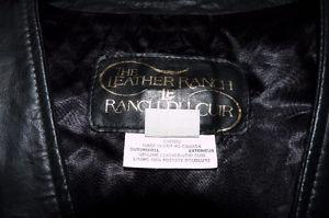 THE LEATHER RANCH LEATHER VEST