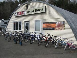 USED BICYCLES FOR SALE STARTING AT $