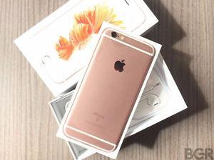 Unlocked iPhone 6s Rose Gold 64GB