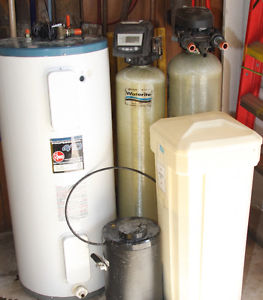 WATER SOFTNER, GREENSAND FILTER, REVERSE OSMOSIS and HEATER