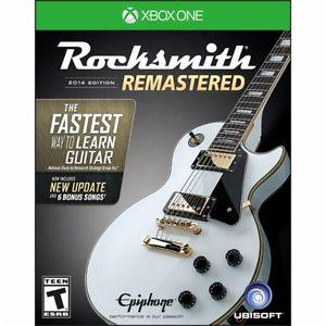Wanted: RockSmith for Xbox One