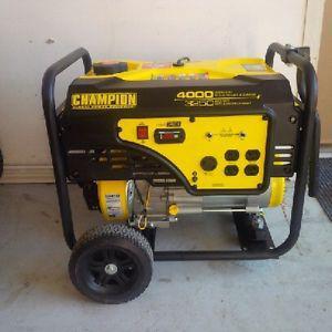 Watt Champion Generator