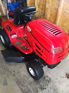 Yard machines lawn tractor