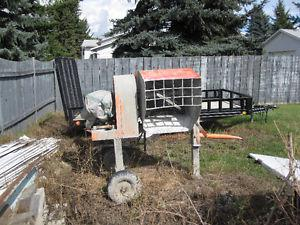 gas powered mortar mixer