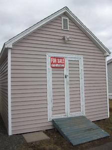 large storage shed 12 ft x16 ft