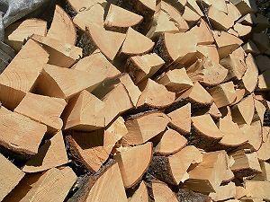 pine seasoned/split firwood
